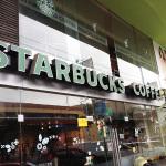 Starbucks chacarilla cerca al edificio VISTACORP